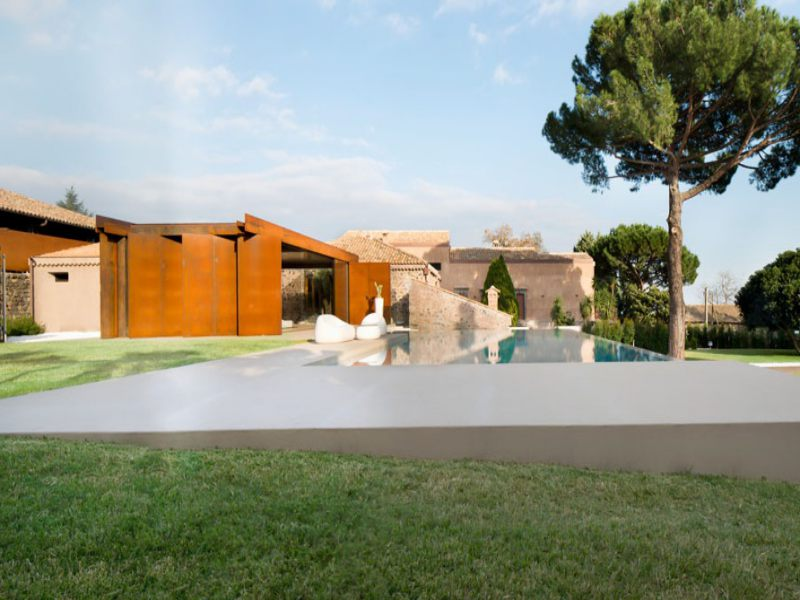 contemporary villa sicily