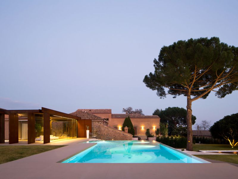 villa with pool sicily
