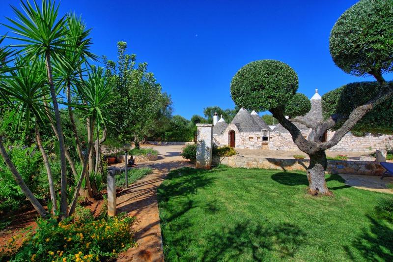 trulli garden