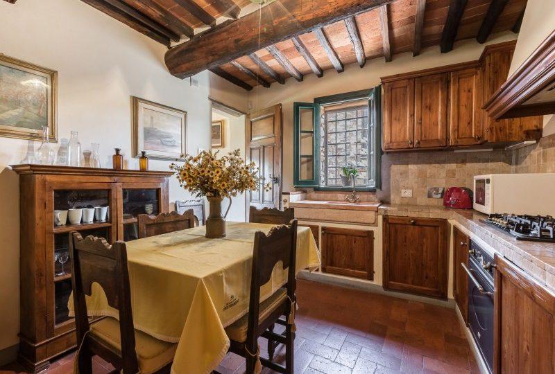 kitchen tuscan villa
