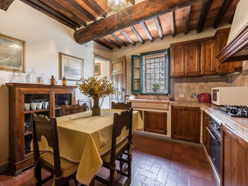 kitchen tuscan villa