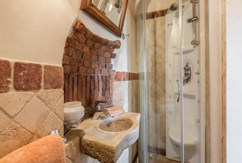 bathroom luxury tuscan villa