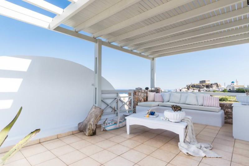 terrace luxury santorini villa for rent