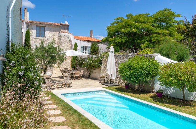 Ile de re private villa for rent France