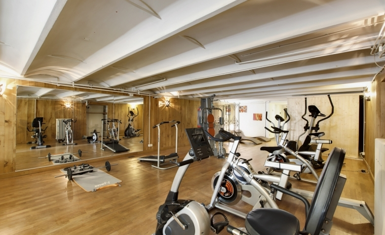 Gym Bikes Luxury Chateau Burgundy France