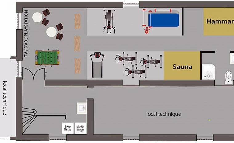 Floor plan 3 Luxury Chateau Burgundy France