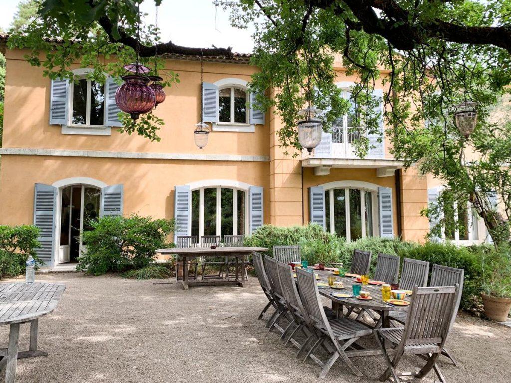 Entrance door Luxury Holiday Villa Nice, France