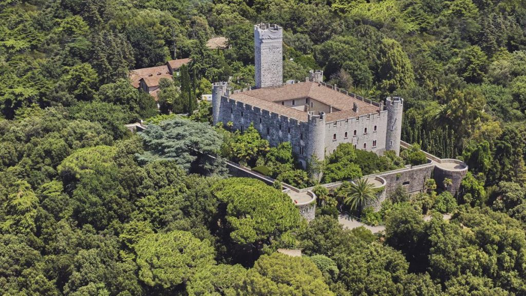 13th century château next to Luxury Holiday Villa Nice, France