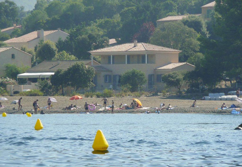 Beach Villa in Corsica sea views