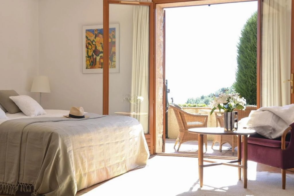 Ensuite bedrooms at the villa
