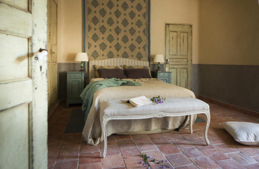 En-suite bedroom of the villa