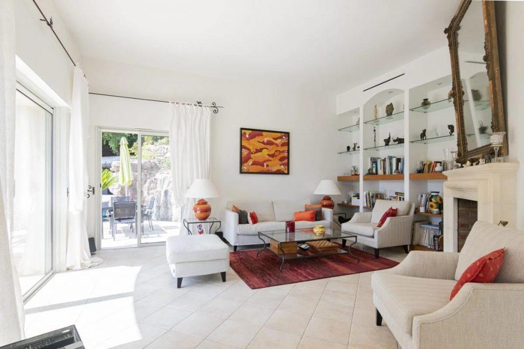 Villa sitting sofa and living areas