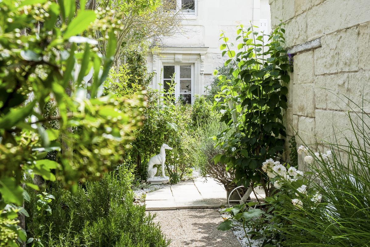 Outdoors of villa