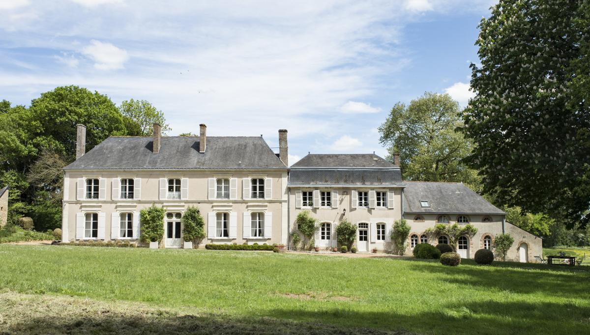 Manoir Les Deux Fonds holiday rental Loire Valley