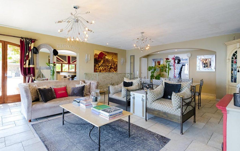interior open plan living areas