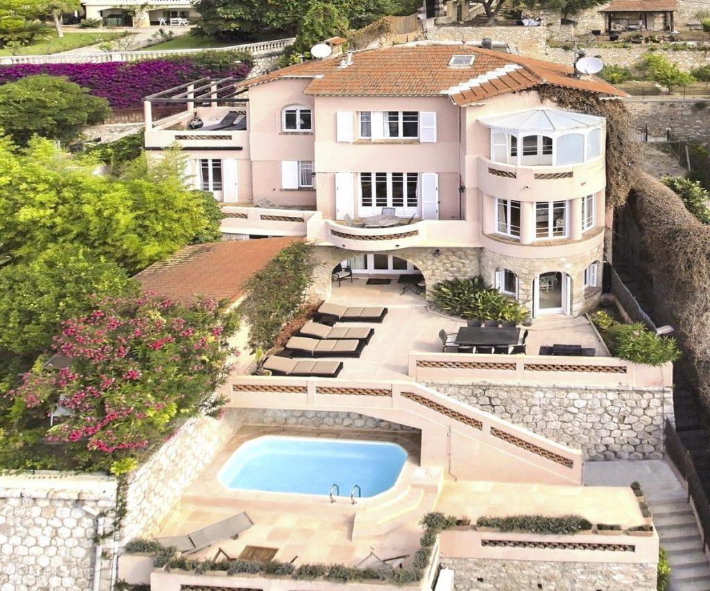 Luxury villa rental in Nice, French Riviera