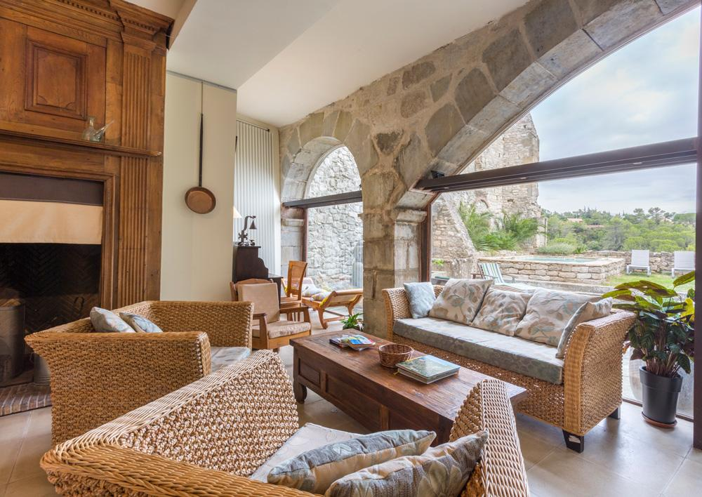 Interior holiday accommodation near Carcassonne, Languedoc-Roussillon