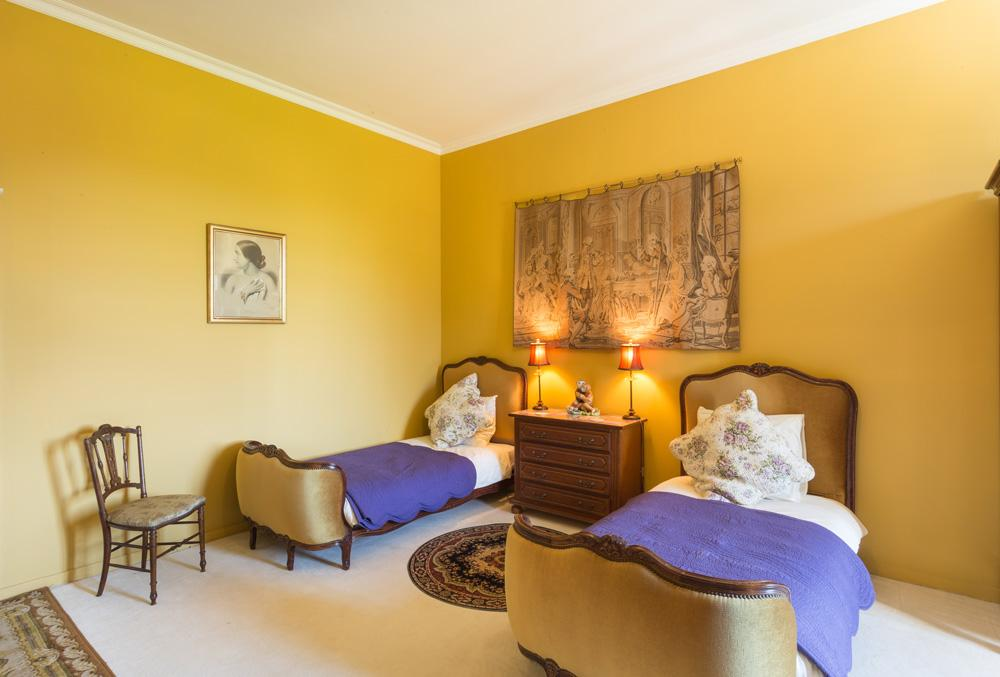 Twin double bedroom Ground floor
