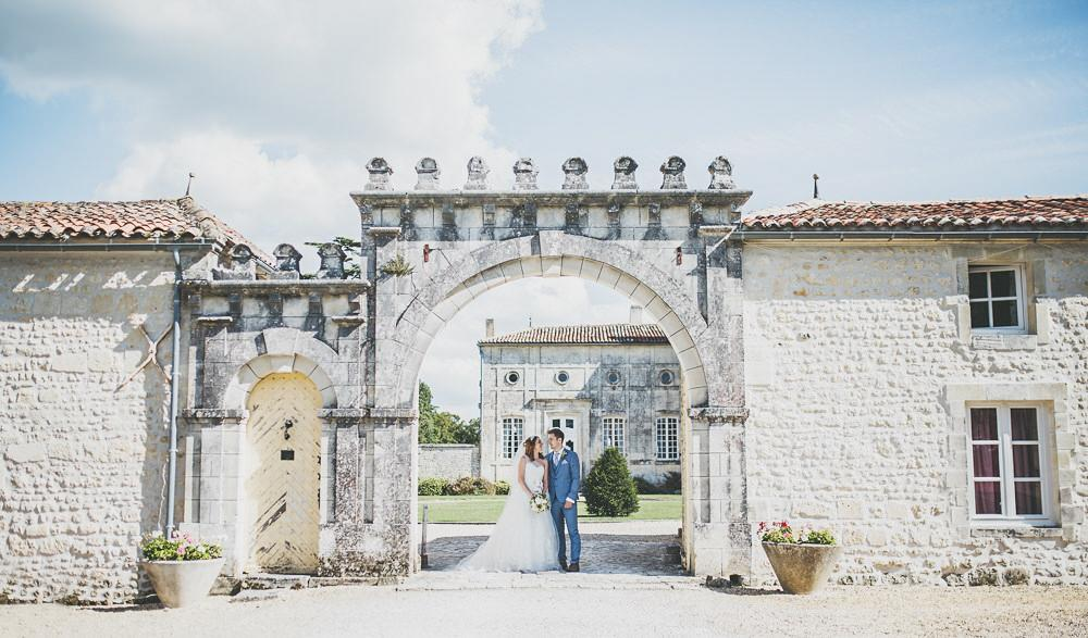 Wedding castle in France to rent outdoor
