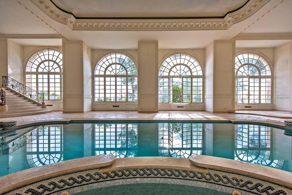 Wedding villa Grasse France the Swimming pool indoor