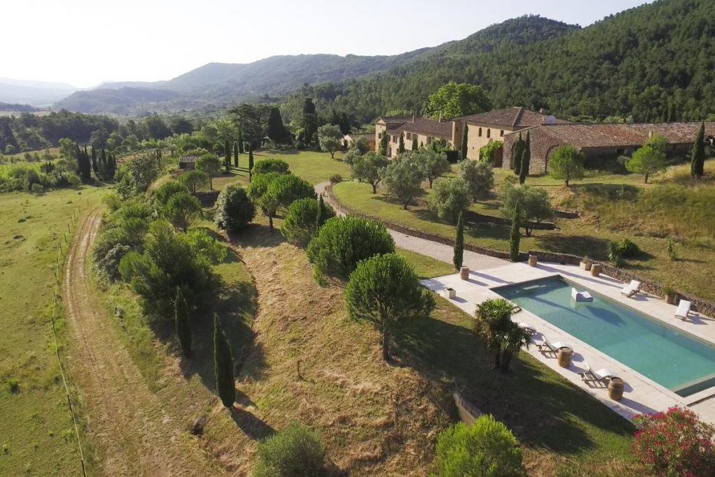 House and pool Villa in Carcassonne Languedoc-Roussillon