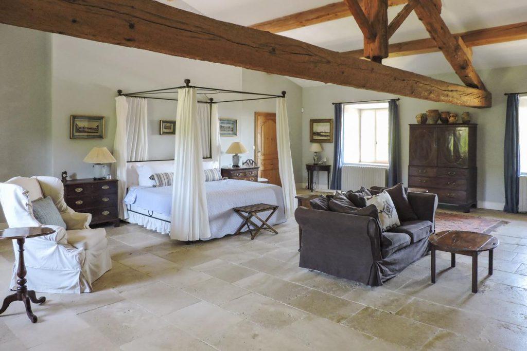 Upper floor bedrooms Villa in Carcassonne Languedoc-Roussillon