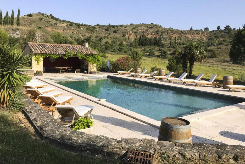 Swimming pool Villa in Carcassonne Languedoc-Roussillon