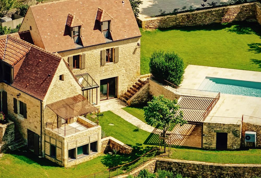 dordogne house for rent with swimming pool