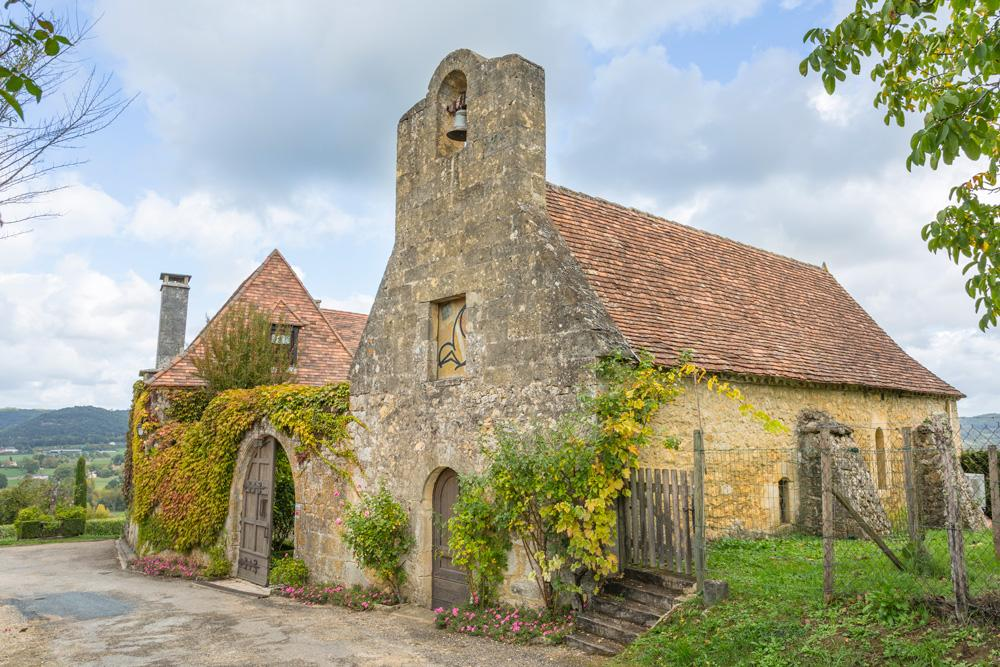 Private chapel at the villa