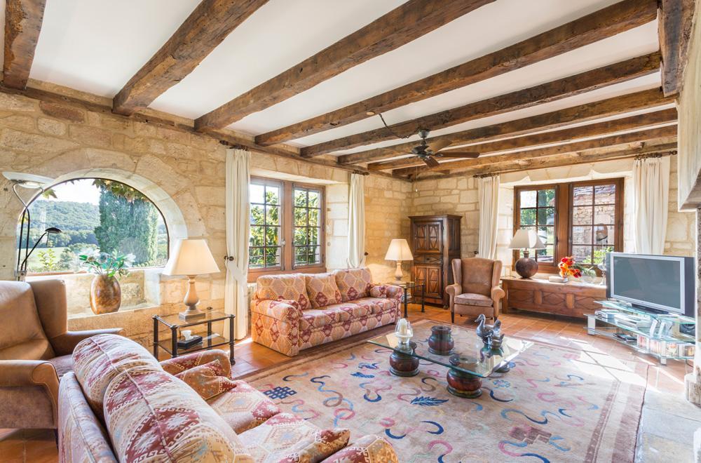 Main villa interior