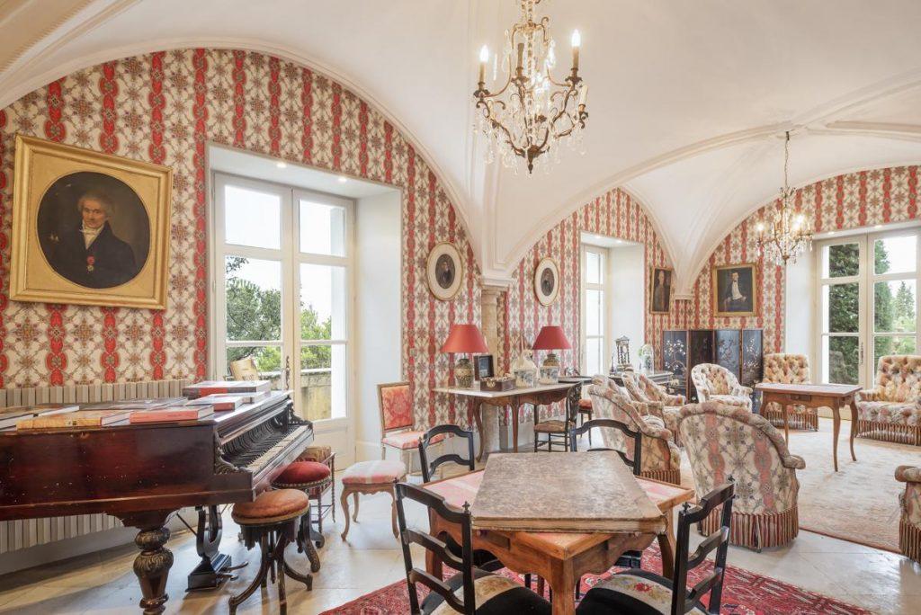 Castle interior with Sofas