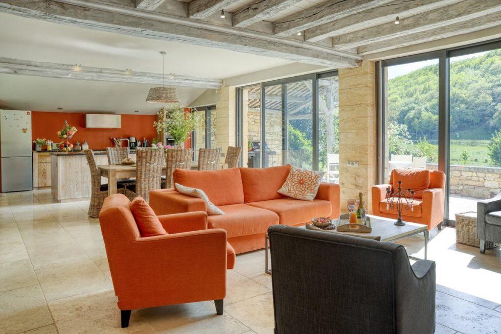 Villa interior Holiday villa in Dordogne