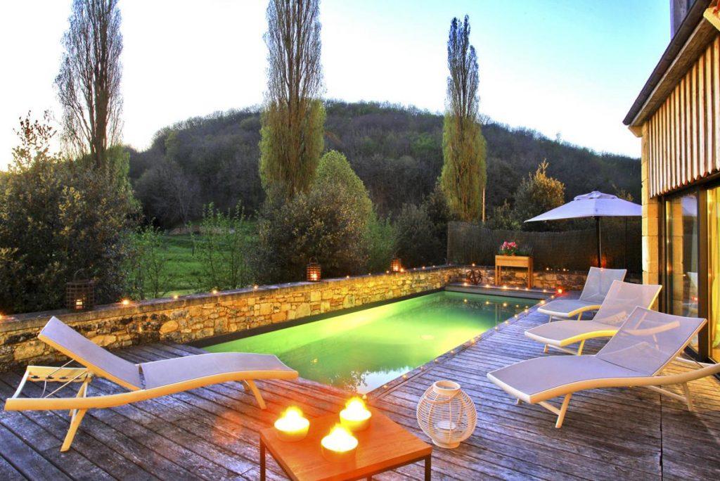 Book dordogne villa rental with a pool