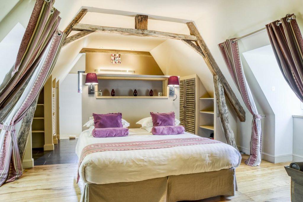 Lower ground floor bedrooms