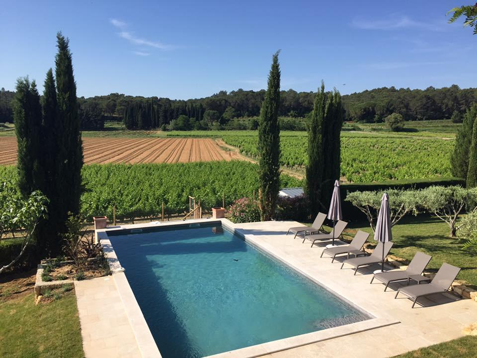 Views outdoor Villa with a Pool in Uzes, Languedoc