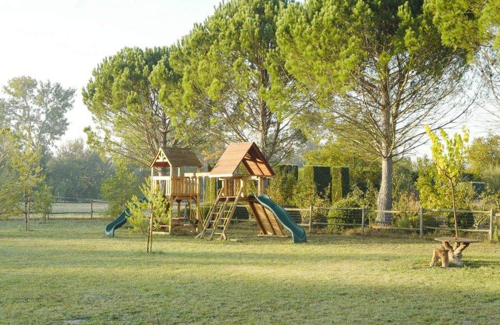 Childrens Play ground area of the Villa in Provence
