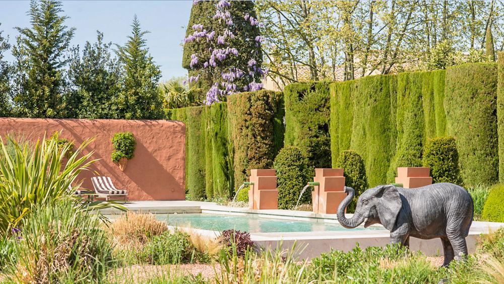 2nd Swimming pool African elepant