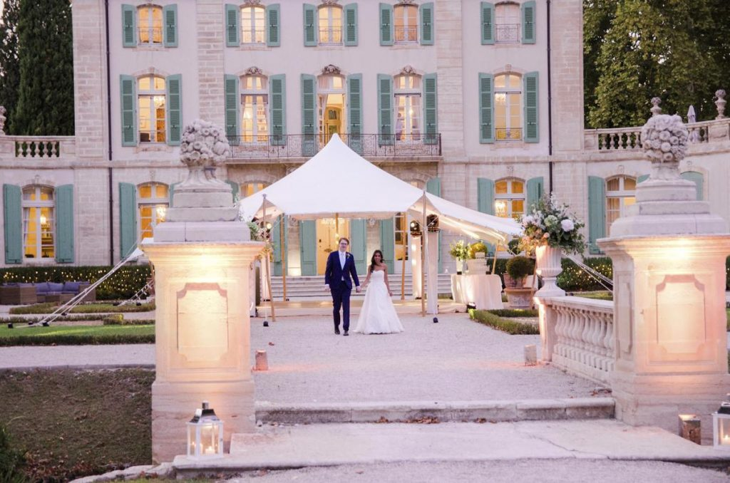 Wedding at the castle in France