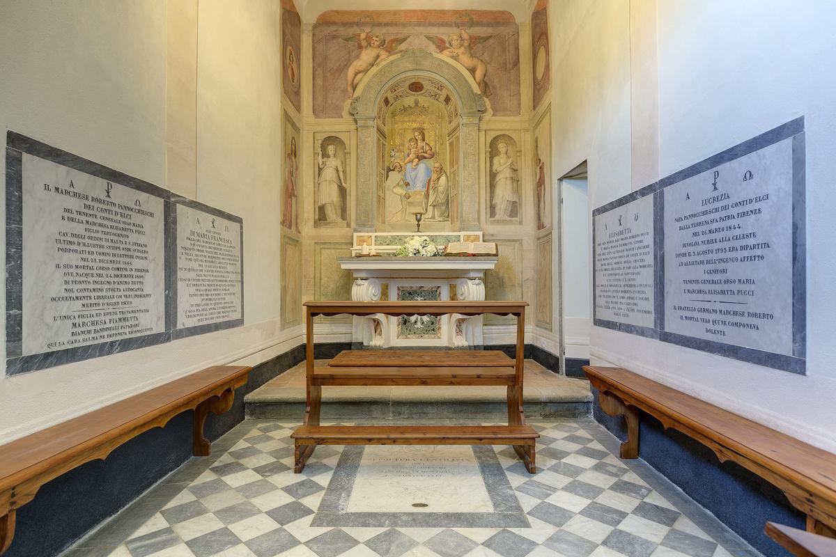Chapel on site