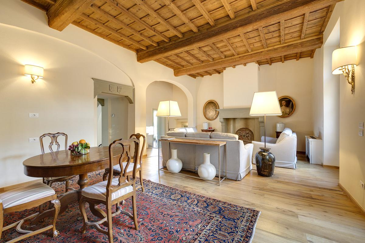 Ineterior living area of villa, Farm house, Olive Press