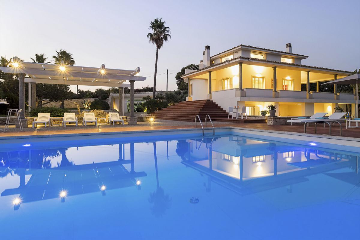 Main House Large Sicialian villa