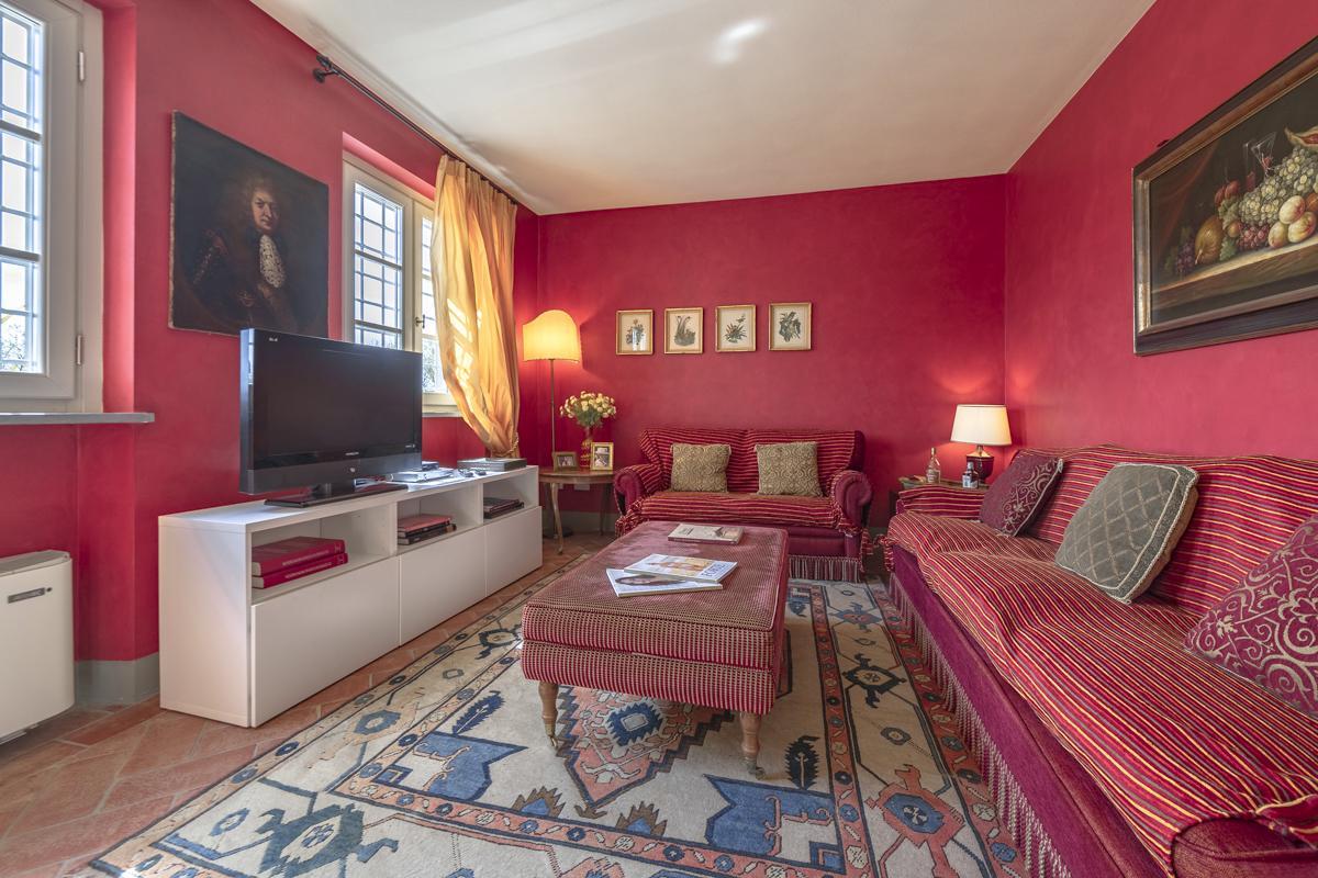Tv Lounge villa Lucca