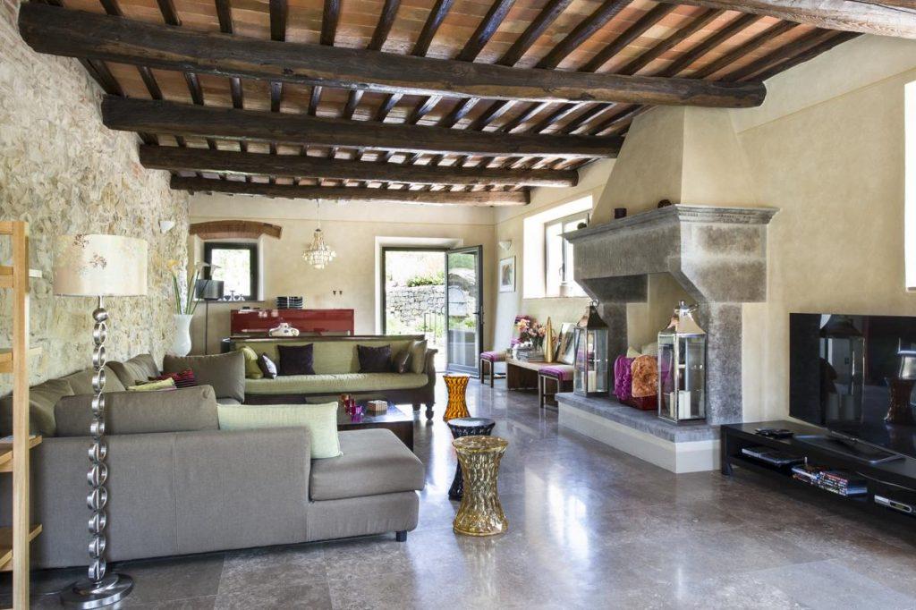 Villa interior Sofa living areas