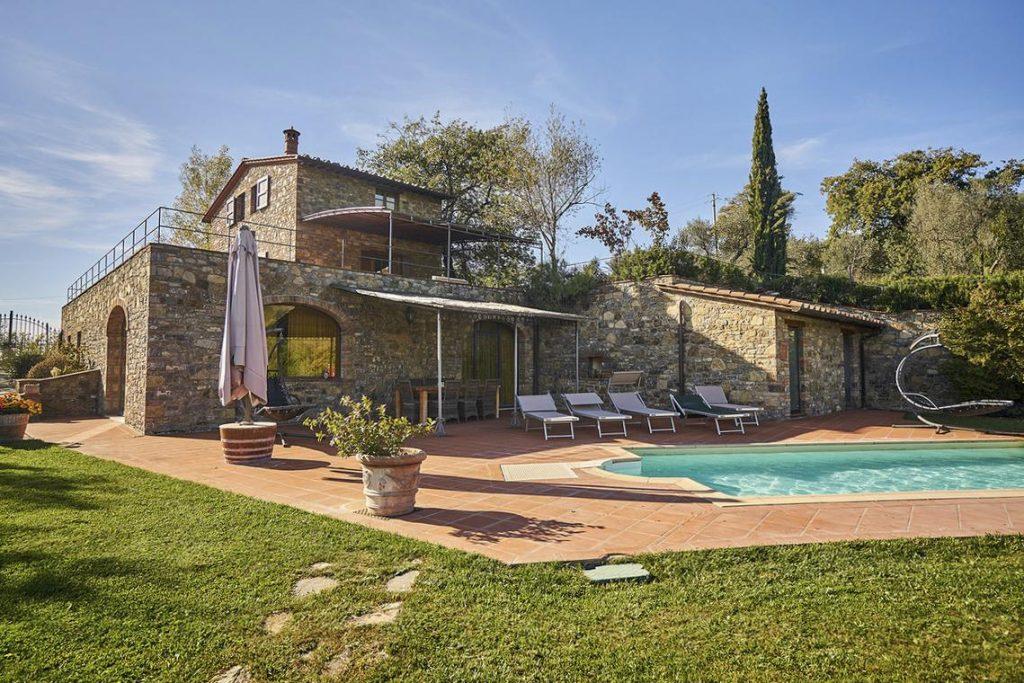 Bedrooms, Apartments wedding villa venue in Tuscany, Italy