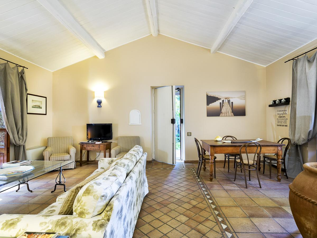 Interior living areas sofas dining room