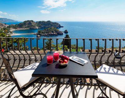 Luxury villa 7 with pool | Taormina, Sicily | 2 bedrooms