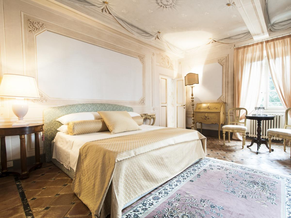 Ensuite Bedrooms with views of Villa in Lucca