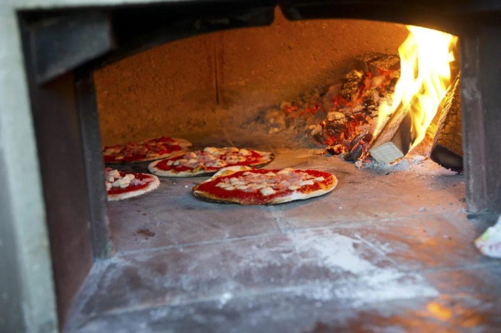 home made pizzas