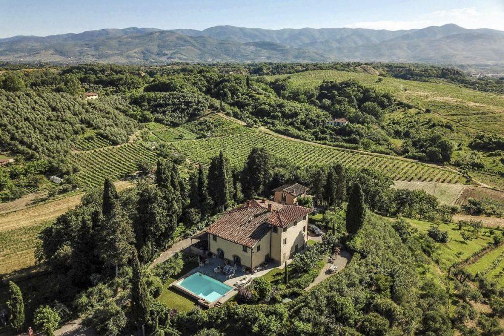 villa holiday in Arezzo