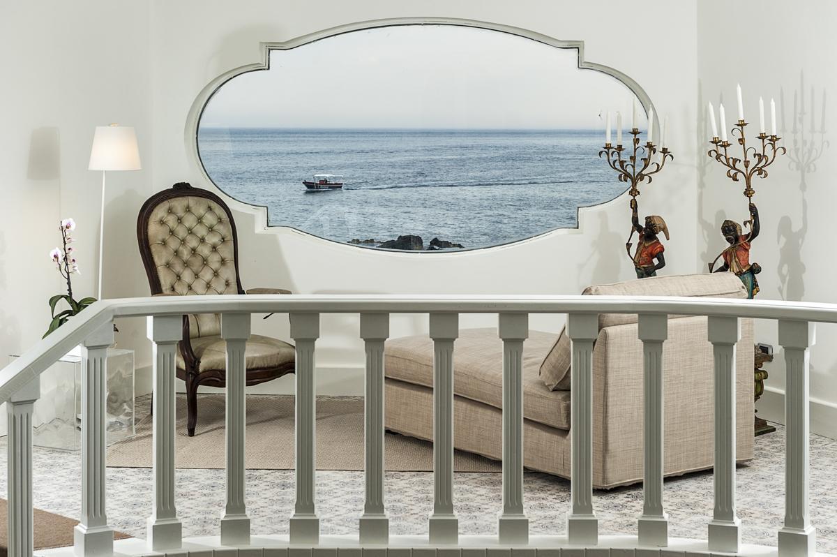 Villa Interior Couch sofa sea views